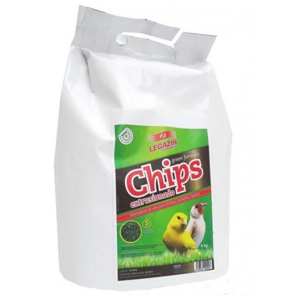 Chips Extrusionado green formula 800 grs