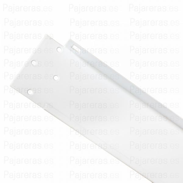 Cartela derecha techo de malla en Blanco