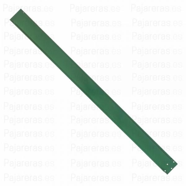Cartela izquierda techo de malla verde