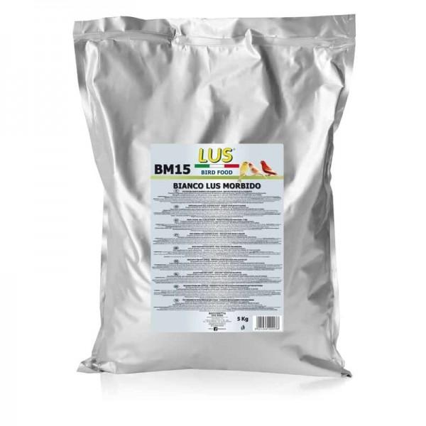 Pasta de cría LUS BM15 muda blanco morbido 5 kg