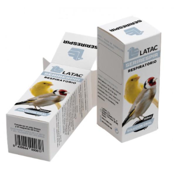 Latac Seri Respir (Suplemento respiratorio para aves)
