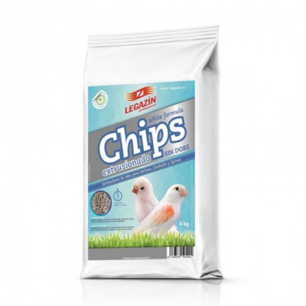 Chips Extrusionado white formula formula 800 grs