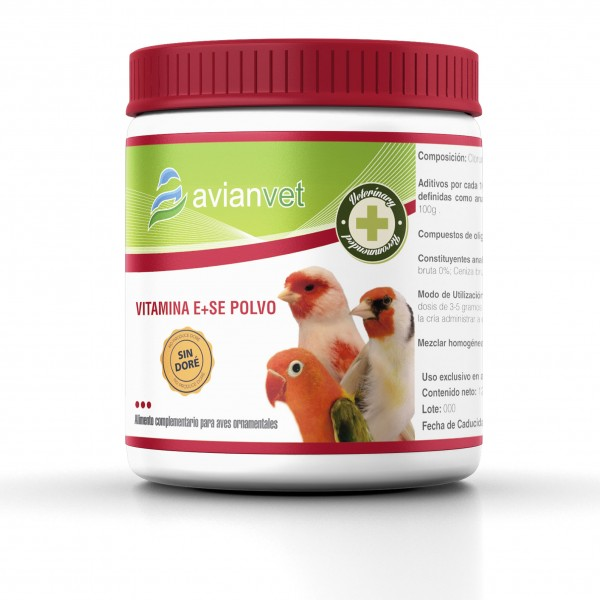 Vitamina E + Se Avianvet en polvo
