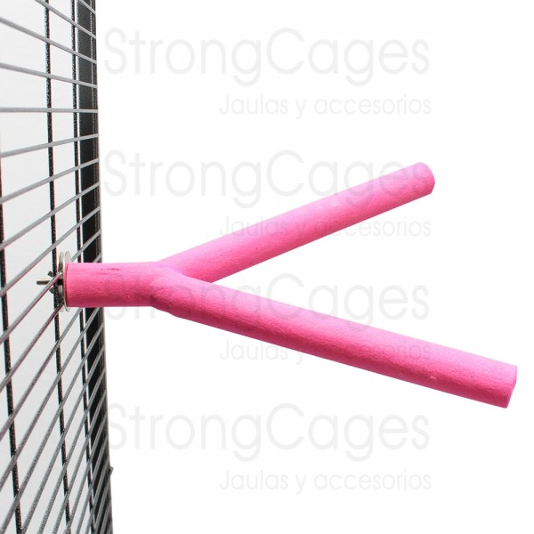 Perch Double StrongCages Loros