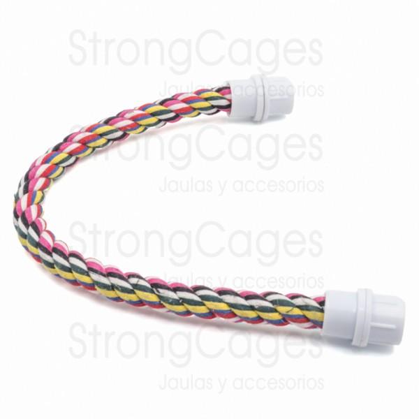 Palo cuerda flexible psitacidas StrongCages