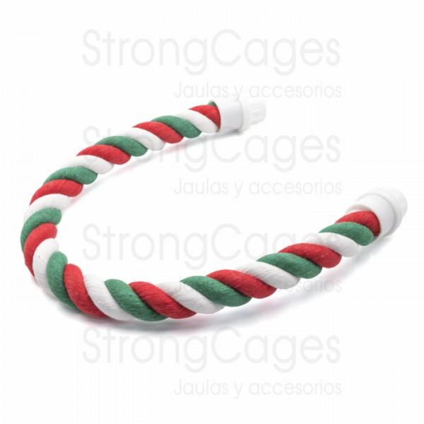 Palo cuerda flexible loros StrongCages