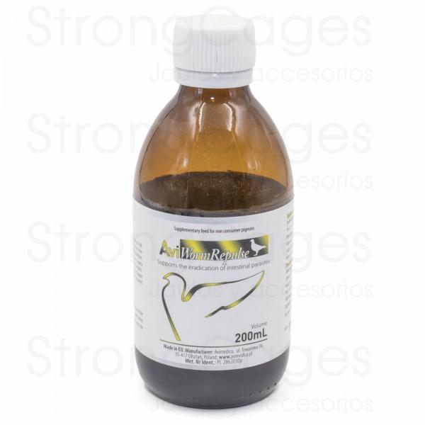 AviMedica AviWormer 200 ml, (Antiparasitario interno 100% natural)