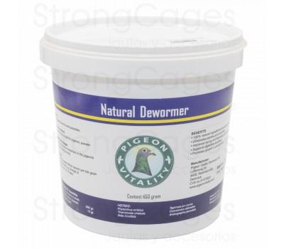 Pigeon Vitality Natural Dewormer 450 gr, (la solución 100% natural contra los parásitos internos)