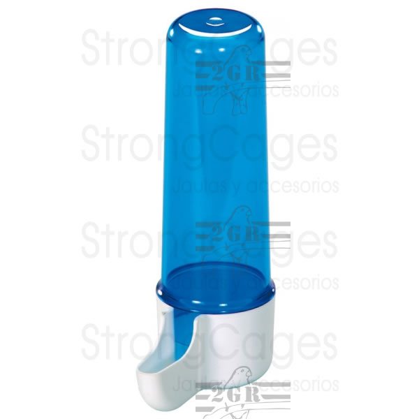 Bebedero largo lujo azul 2GR