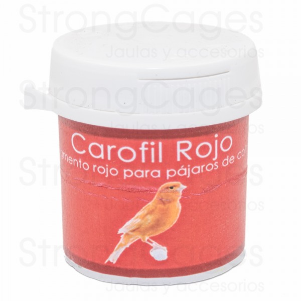 Carofil Rojo StrongCages 20 grs
