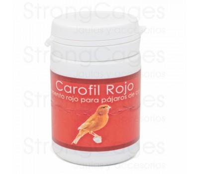 Carofil Rojo StrongCages 40 grs