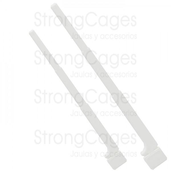 Plastic perches breakable 40cm