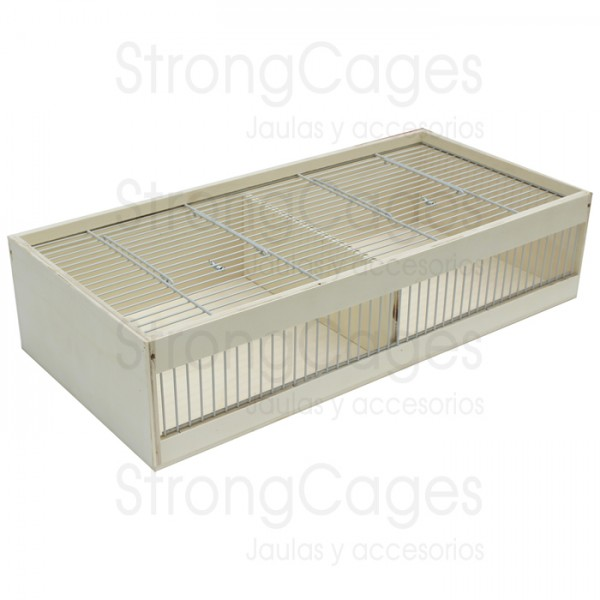 Transport box large, 2 compartments with aeration