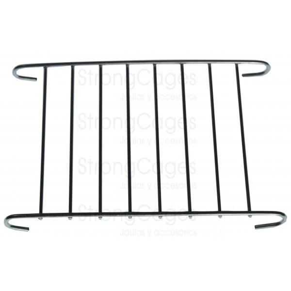 Puerta guillotina 13 x 9 cm zincada
