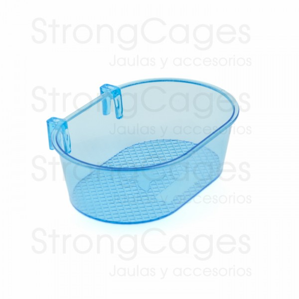 Bañera interior con ganchos