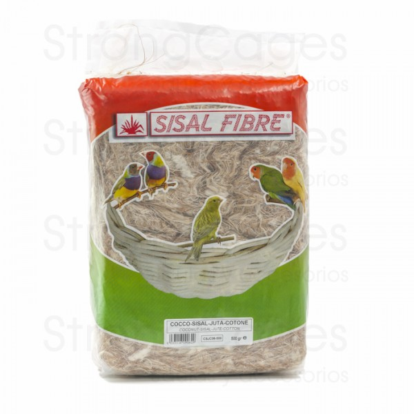 Coco-Sisal-Yute-Algodon Sisal Fibre 500 grs.