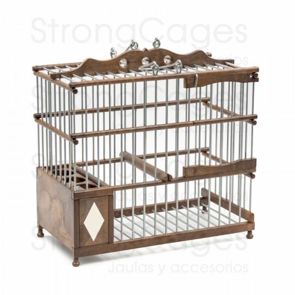 Malaguena Cage brown PVC
