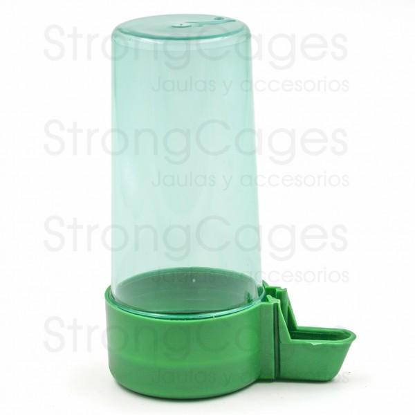 Bebedero pajarera mediano verde