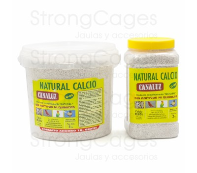 Calcio Natural Canaluz G-02  (amarillo)
