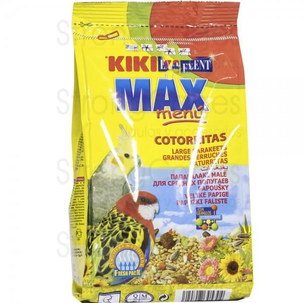 Kiki max menú cotorritas 500 gr