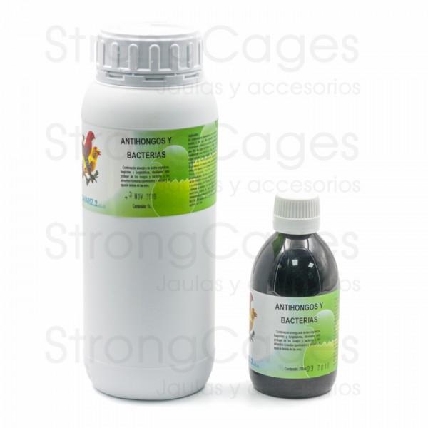 Antihongos y bacterias