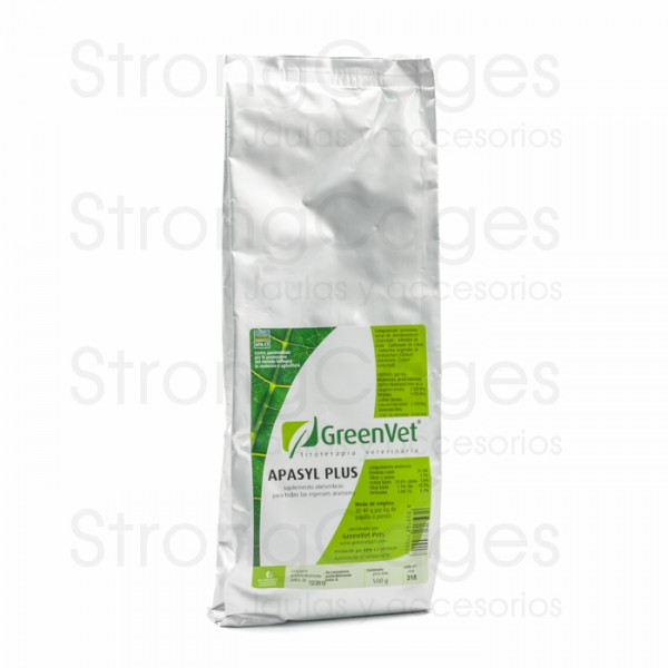 Greenvet Apasyl Plus 500 grams (against liver toxicity)