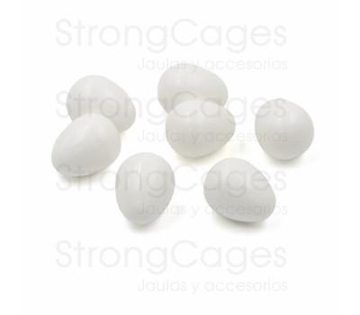 Huevos falsos de Agapornis