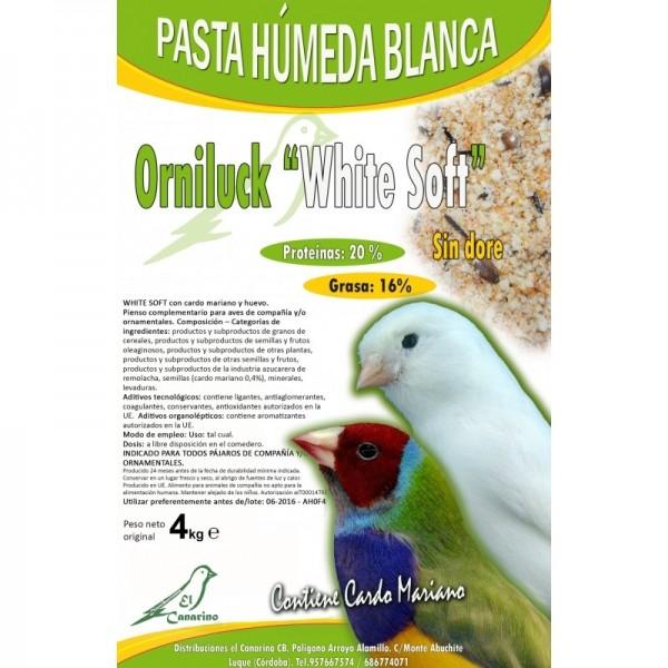 Orniluck White Soft -Pasta Blanca Húmeda