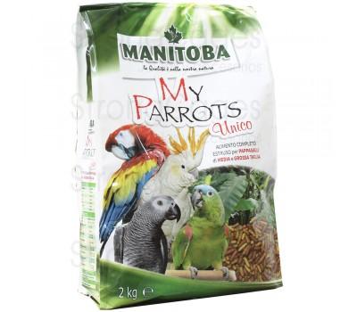 Piensos de Loros My Parrots Único (Manitoba)