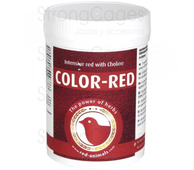 Color Red de Red Animals 100 grs