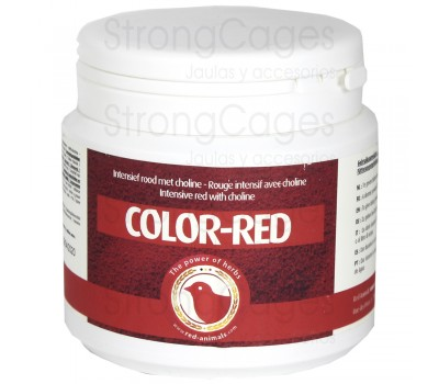 Color Red de Red Animals 300 grs