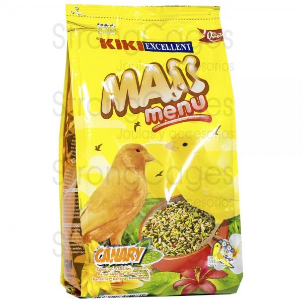 Kiki Max menú canarios 400 gr