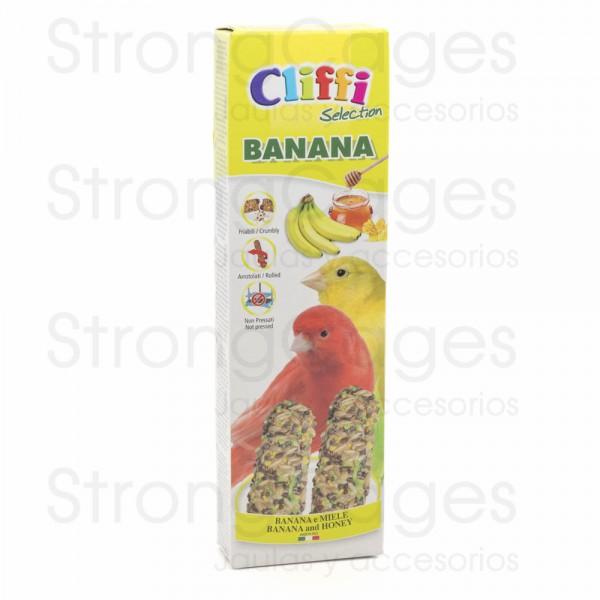 Cliffi barrita canarios platano y miel