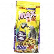 Kiki max menú loros y cotorras 800gr