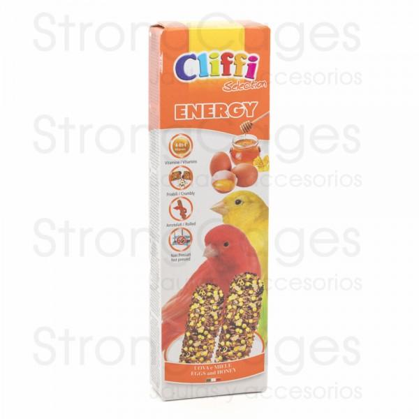 Cliffi barrita canarios huevo y miel