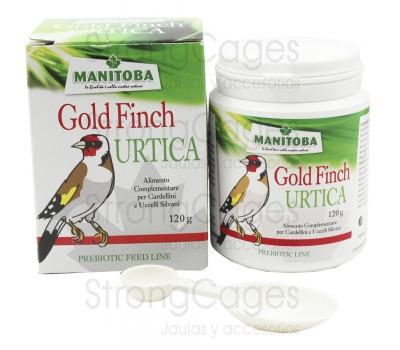 Manitoba Gold Finch Urtica 120 gr (Extracto de Ortiga con ginseng)