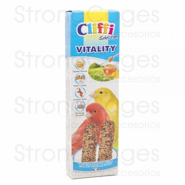 Cliffi barrita canarios  miel y semilla de la salud
