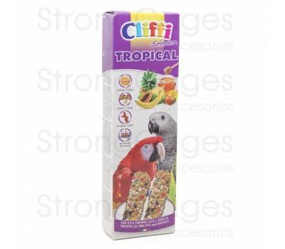Cliffi barrita loros fruta tropical y miel