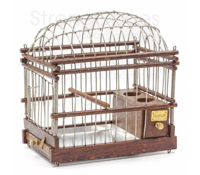 Handmade Wooden Oval Cage for wild