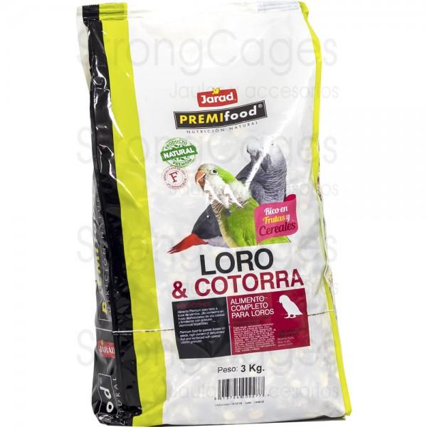 Premifood Loro Fortificada 4 kg