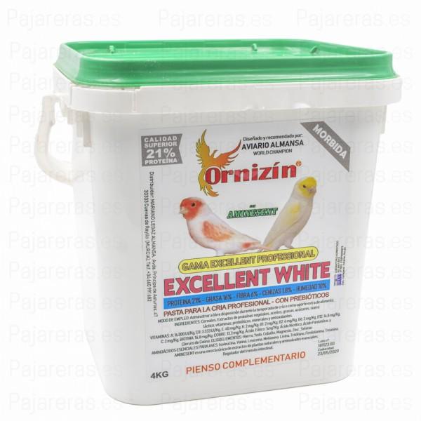Pasta Excellent Profesional White Ornizin