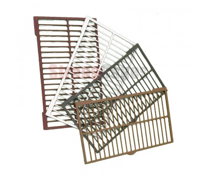Replacement grille with mesh cage floor C2