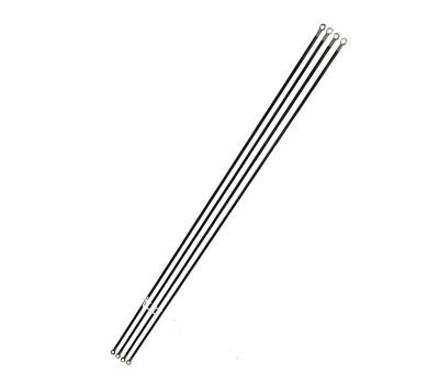 Game fiberglass poles